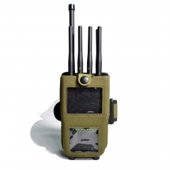 Newest 8 Antennas 5.6W Handheld Cell Phone 3G 4G Jammer WIFI GPS Jammer
