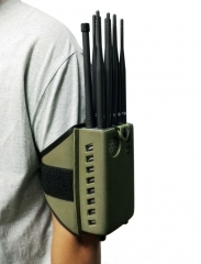 10 bands Portable 2G+3G+4G+WIFI+GPSL1-L5+LOJACK Cell Phone Signal Jammer/Blocker