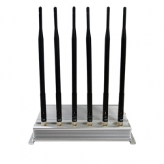 Low Price& Good quality Indoor Mobile Signal Jammers With Cooling System block 2G/3G/4G /WIFI All Signals