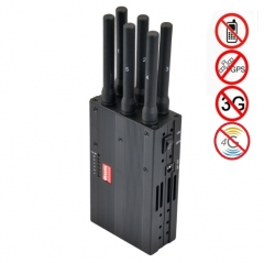 Portable All 3G 4G Mobile Phone Signal Jammer & WiFi Jammer