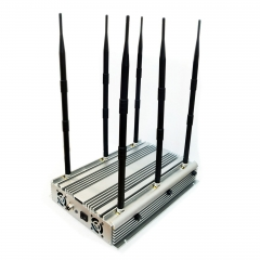 70W Indoor High Power Wi-Fi Jammer /High Power Mobile Phone Jammer for 2G/3G/4G Up to 80 m