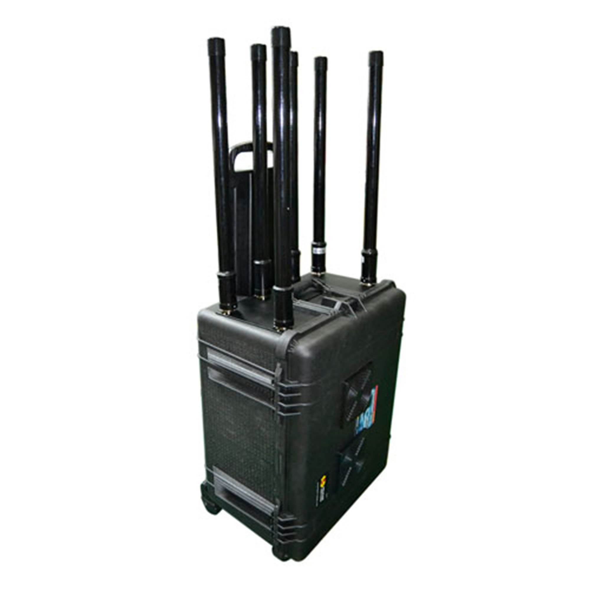 Wireless signal jammer , Portable GPS Jammer, 2G and 3G Mobile Phone Signal Jammer