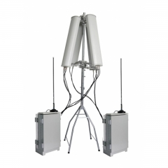 600 Watt High Power Prison Outdoor Prison Waterproof Wireless signal Jammer Jamming up to 500 M